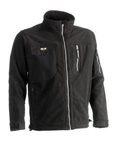 Herock Zeus Fleece jas zwart XL