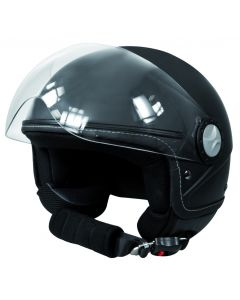 Jethelm zwart S (55/56 cm)