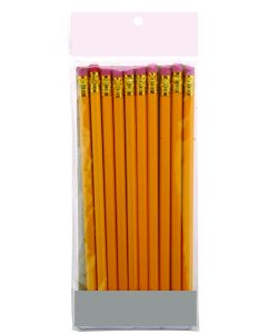 Potloden HB met gum - 10 stuks
