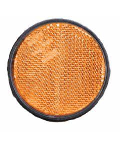 Reflector 60mm zelfklevend oranje
