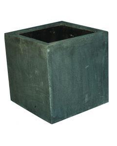 Terrazzo - Kubus hoog grijs 32x32x45