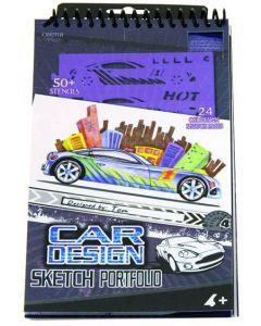 Schetsboek Car's design