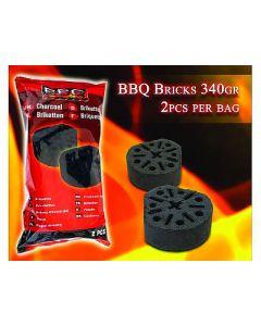Aanmaakblok BBQ  2 stuks à 340 gram