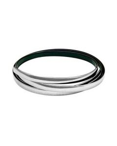 Chromen strip 14 mm x 4 meter