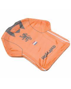 Partybordjes Shirt Oranje 8 stuks