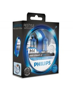 Philips Color Vision blauw H4