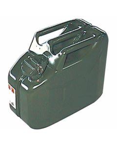 Jerrycan 10ltr metaal groen