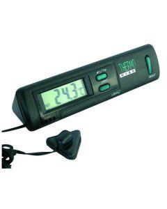 Thermometer binnen - buiten (zwart)