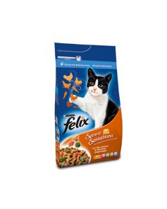 Felix Senior Sensations kattenvoer