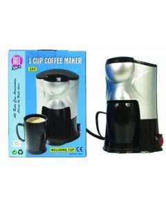 Koffiezetapparaat voor 1 kopje 24 volt
