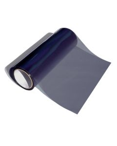 Koplamp-/achterlicht folie licht zwart 1000x30 cm
