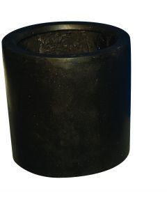 Terrazzo - Cilinder zwart 30x30
