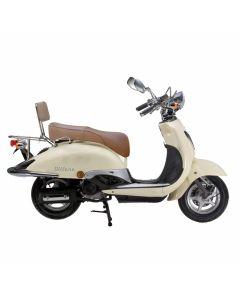 Retro scooter Milano - 25 km uitvoering