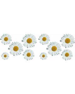 Bloemen decor sticker