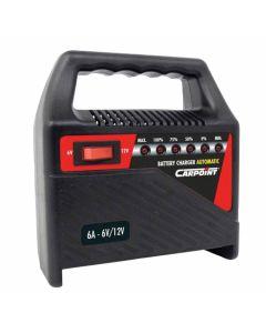 Acculader 6 Amp. 12V