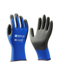 Werkhandschoen glove on touch pro blauw