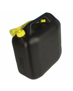 Jerrycan 20ltr kunststof zwart