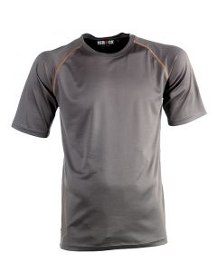 Herock Dionysus t-shirt korte mouw grijs XXL