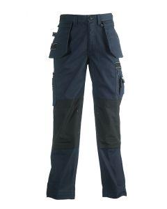 Herock Hercules multi-pocket werkbroek met afritsbare spijkerzakken navy,donkerblauw 50