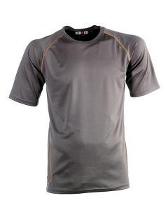 Herock Dionysus t-shirt korte mouw grijs M