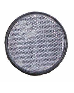 Reflector 60mm zelfklevend wit
