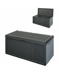 Kussenbox grijs