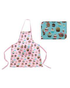 Keukenshort Cupcake