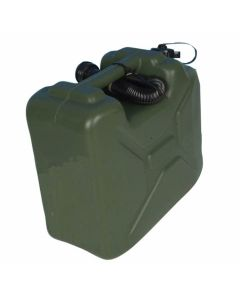 Jerrycan 10ltr plastic groen