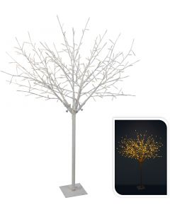 Takkenboom wit 304LED warm wit 150 cm