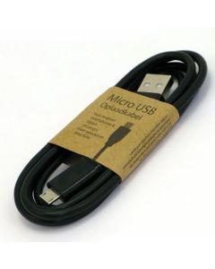 Micro USB laadkabel zwart