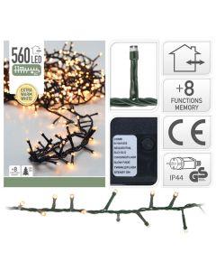 Clusterverlichting 560 LED lampjes - 11 meter