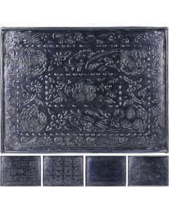 Onderbord antraciet 29 x 39 cm