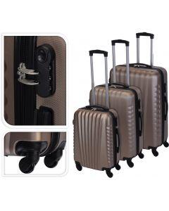 Koffer brons - 97 liter