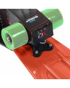 Skateboard XQ Max Retro Rood/Oranje