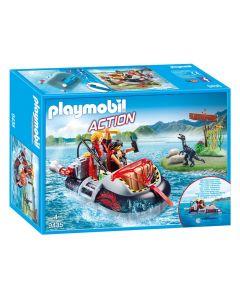 Playmobil - Hovercraft met onderwatermotor