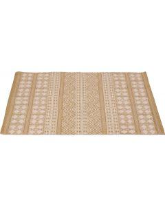 Vloerkleed 120x80 cm beige
