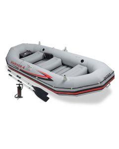 Intex opblaasboot - mariner 4 set