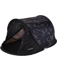 Pop-up kampeertent 1-persoons camouflage