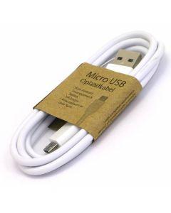 Micro USB laadkabel wit
