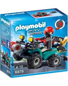 Playmobil Bandiet en quad met lier - 6879