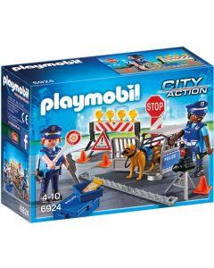 Playmobil Politiewegversperring - 6924