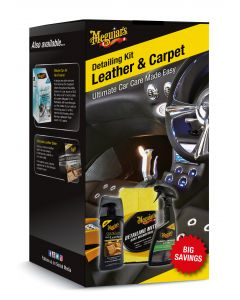 Meguiar's Leather And Carpet Detailing Kit