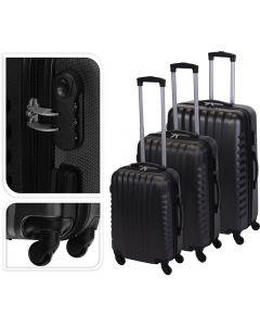Koffer zwart - 97 liter