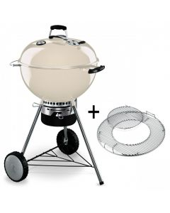 Weber Master Touch GBS 57cm Ivory Houtskool BBQ