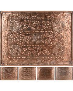 Onderbord 29X39cm goud