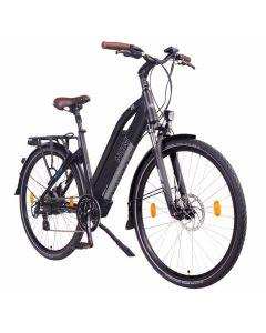 NCM Elektrische Trekking bike Milano 28'' Zwart