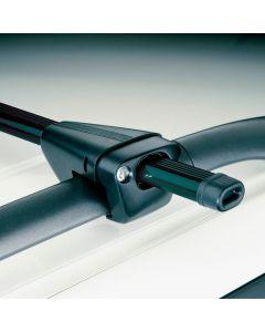 Universele Dakdragerset Twinny Load Staal Logico Key 120cm (auto's met open reling)