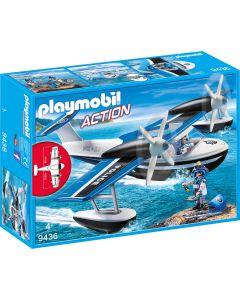 Playmobil - Action politiewatervliegtuig