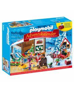 Playmobil - Adventskalender kerstatelier 9264