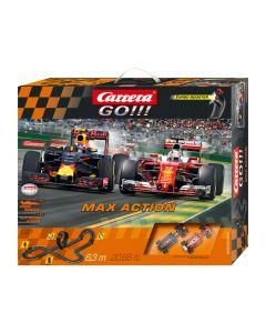 Racebaan Max action Carrera Go